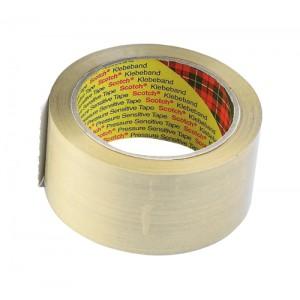 Scotch Classic Packaging Tape W50mmxL66m Clear Ref CL5066F6T [Pack 6]