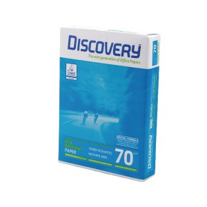 Discovery White A4 Paper 70gsm 5xReams