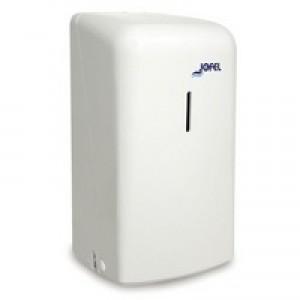 2Work Twin Toilet Roll Dispenser White