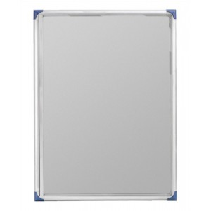 Nobo Noticeboard Extra-flat Glazed Case Lockable Magnetic Steel 6xA4 W785xD40xH812mm Ref 1900847