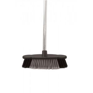 Soft Bristle Broom Indoor Chrome Handle length: 1.2m