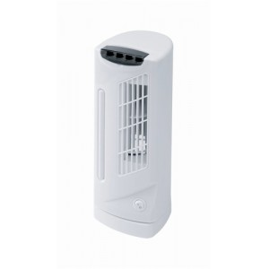 5 Star Facilities Mini Tower Fan 3 Speed 90¦ Oscillation 40W H330mm