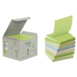 Post-it Pastel Rainbow Z-Notes 76x76mm