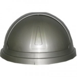 Addis Bullet Bin 50L Silver Lid
