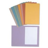 Concord 270gsm Square Cut Folder Medium-weight Foolscap Yellow 43209