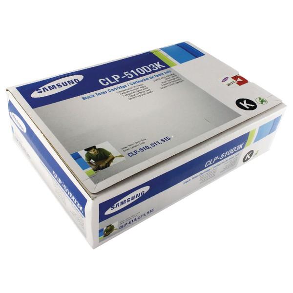 Samsung Toner Cartridge Standard Yield Black CLP-510D3K/ELS