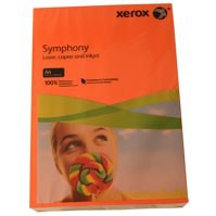 Symphony 160gsm Orange strong tint A4  (250)