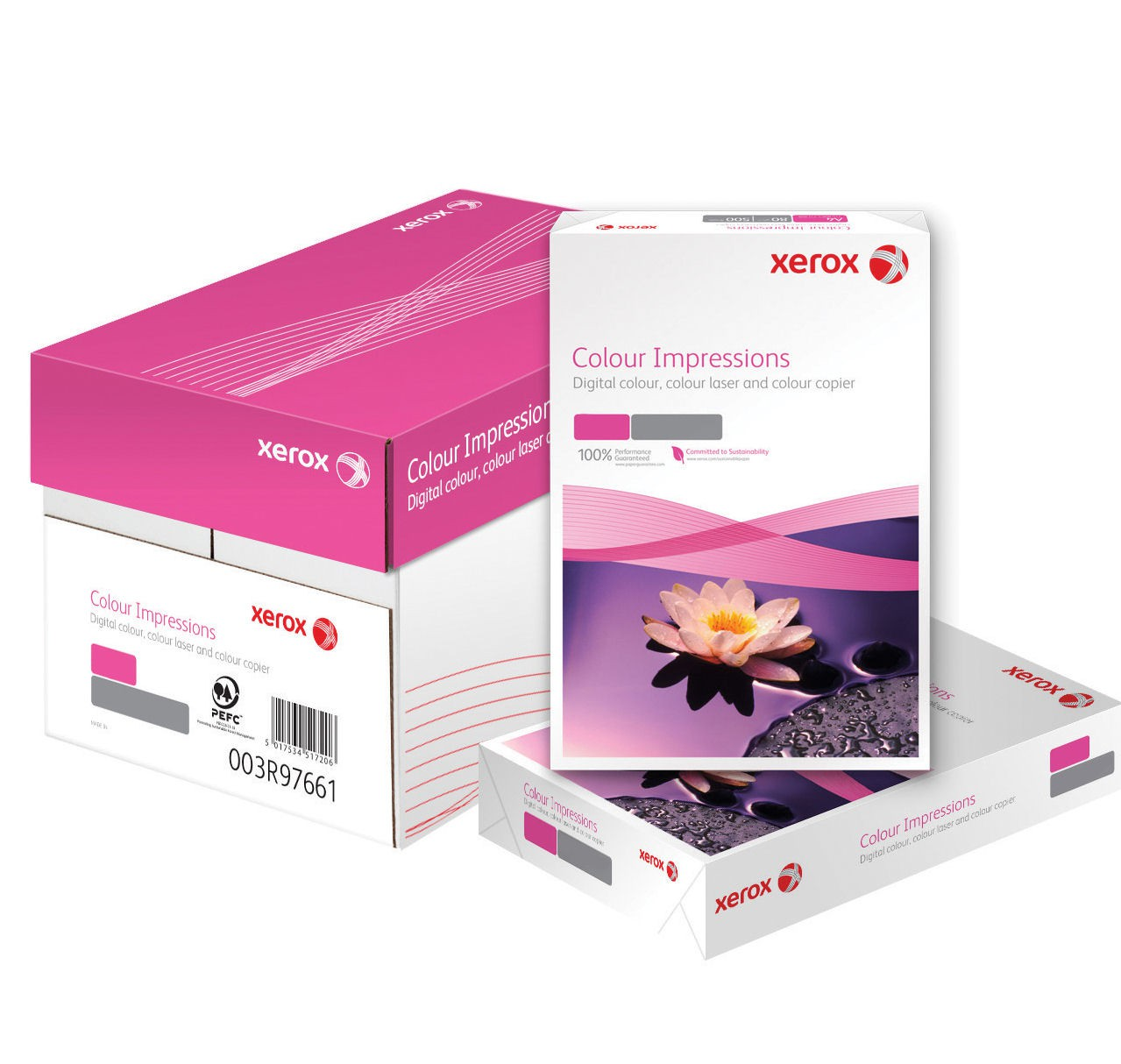 Colour Impressions 100gsm A4 PEFC ( Pack of 4)