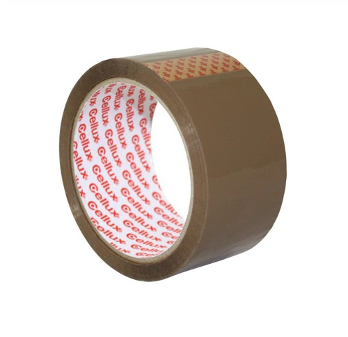 Sellotape Cellux Tape Economy General Purpose 48mmx50m Buff Code 0550