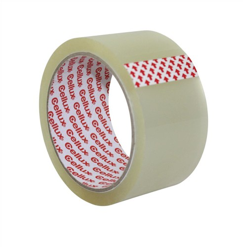 Sellotape Cellux Tape Economy General Purpose 48mmx50m Clear Code 0857