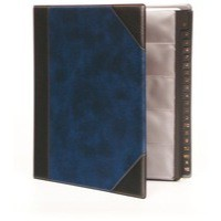 Goldline Dlux Bus/Card Binder Bu DBCB9BL
