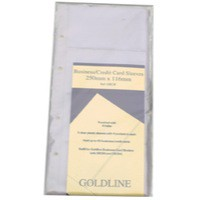 Goldline Bus/Card Binder Rfl GBC/R PK5