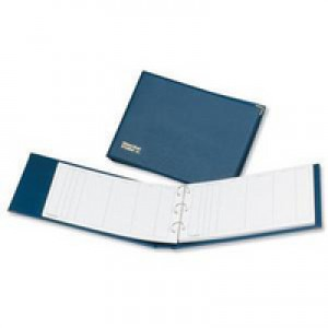 Guildhall Visitors Book Loose-leaf 3-Ring Binder PVC 50 Sheets 236x349mm Ref T40Z