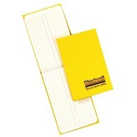 Chartwell Survey Book Dimension Weather Resistant 80 Leaf 106x165mm Code 2242