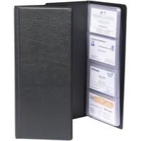 Goldline 64Pkt Bus/Card Holder Blk CBC4P