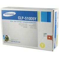 Samsung CLP-510 Laser Toner Cartridge High Yield Yellow CLP-510D5Y/ELS