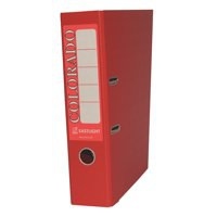 Acco Eastlight Colorado 80mm Lever Arch File A4 Red 28148EAST