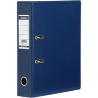 Bantex Lever Arch File PVC A4 Upright 70mm Blue 100080898