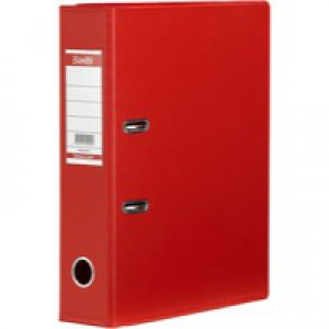 Bantex Lever Arch File PVC A4 Upright 70mm Red 100080903
