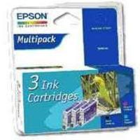 Epson R300/RX500 Inkjet Cartridge Multi Pack Cyan/Magenta/Black C13T048C40