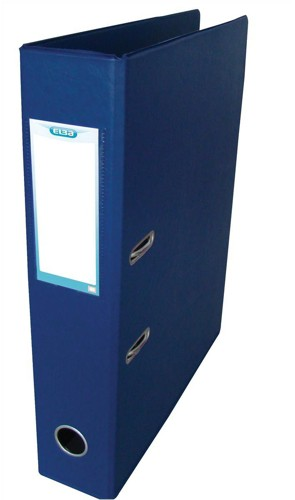 Elba Lever Arch Files PVC 70mm Spine Upright A3 Blue Ref 100080915 [Pack 5]