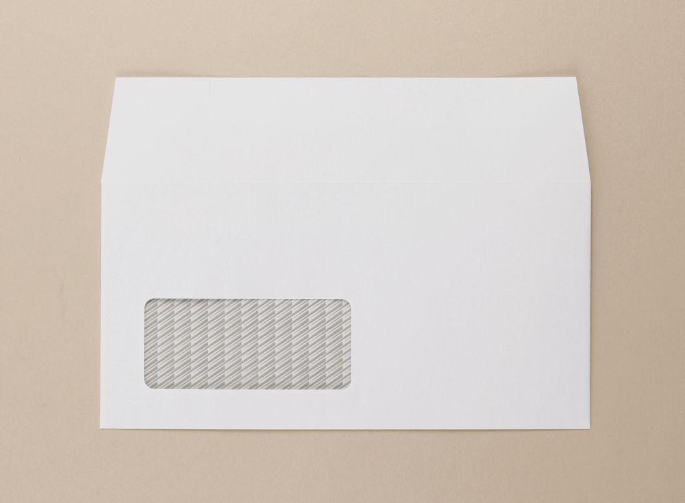 Communique Envelope White 100gm DL 110x220mm SuperSeal Window 18Up 20Lhs Boxed 500