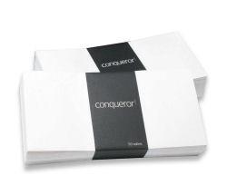 Conqueror Laid Cream DL Envelope FSC4 110X220mm Sup/Seal Bnd 50 Wdw 22Up 17Lhs