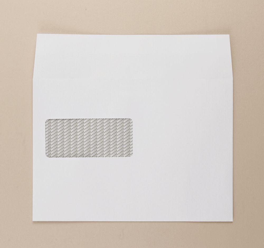 Communique Envelope White 100gm Window C5 162x229mm SuperSeal Boxed 500