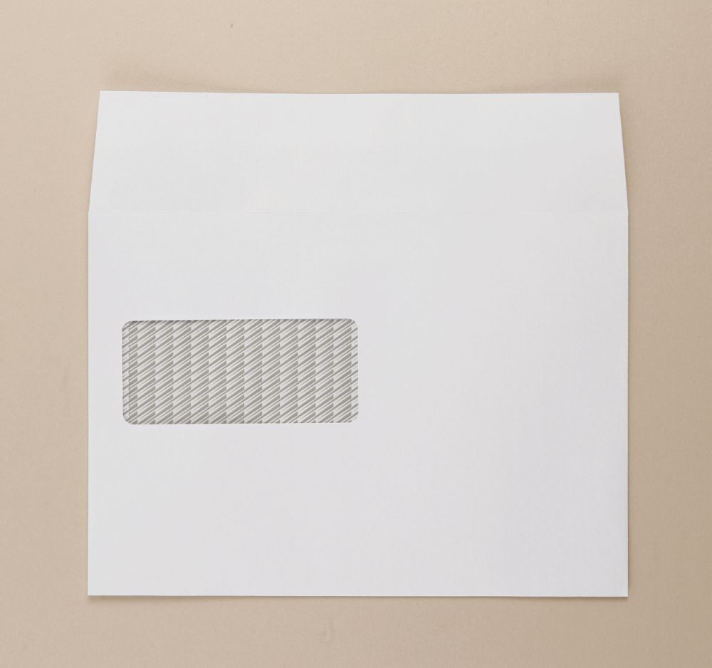 Communique Envelope White 100gm Window C5 162x229mm SuperSeal Boxed 500