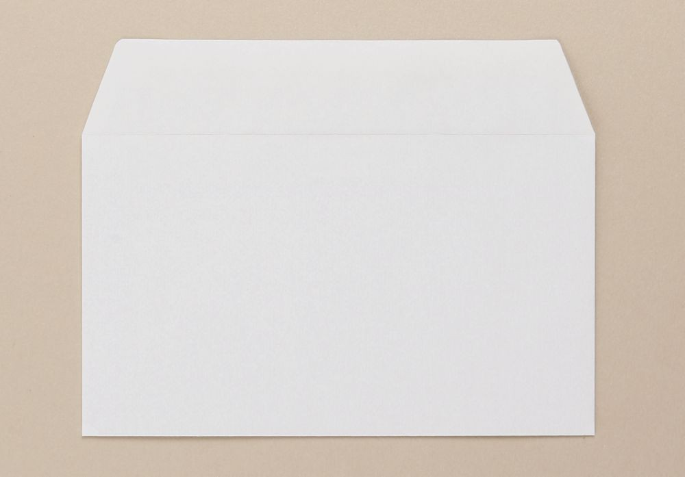 Severn Envelope White Wove 80gm 89x152mm Gummed Flapped Boxed 1000