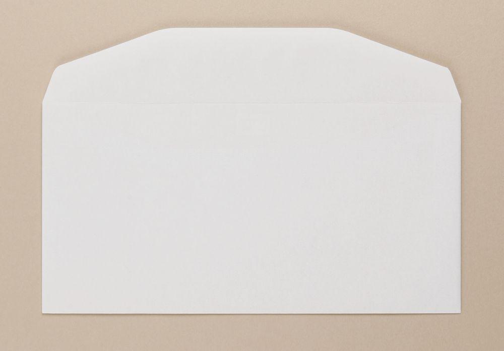 Severn Envelope White Wove 80gm DL 110x220mm Gummed Flapped Boxed 1000