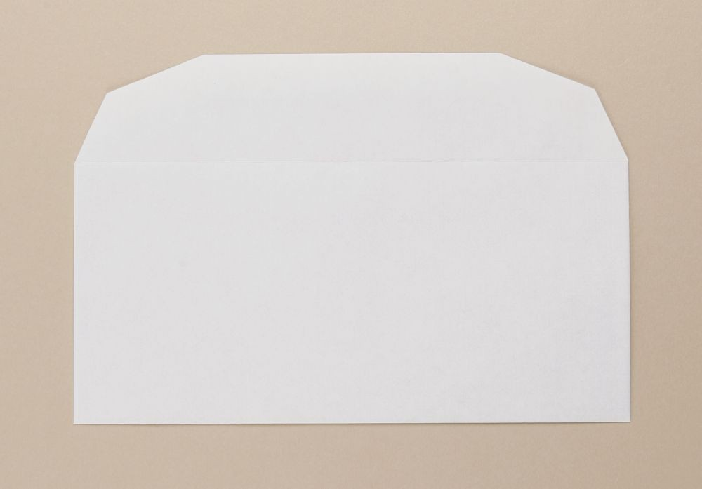 Severn Envelope White Wove Business Reply 80gm 102x216mm Gummed Flapped Boxed 1000