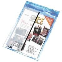 PostSafe Envelopes Polythene Self-seal 70micron 60mm Flap Clear C3+ Ref P30 [Box 100]