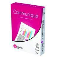 Communique Envelope White 100gm DL 110x220mm SelfSeal Window 18Up 20Lhs Boxed 500