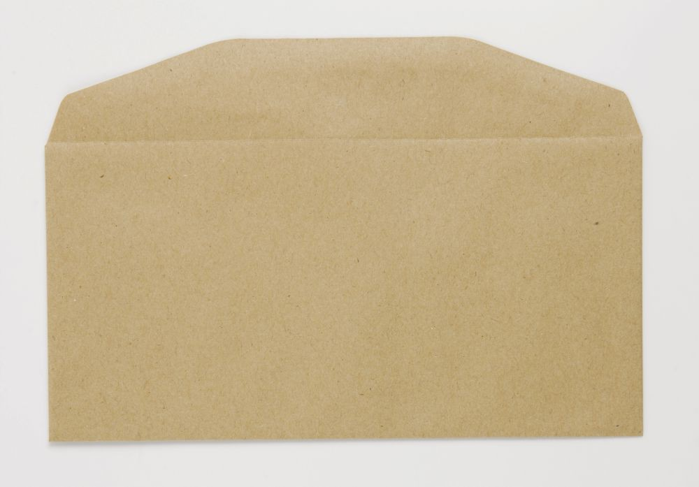 Niger Envelope Manilla 70Gm DL 110x220mm Gummed Flapped Boxed 1000