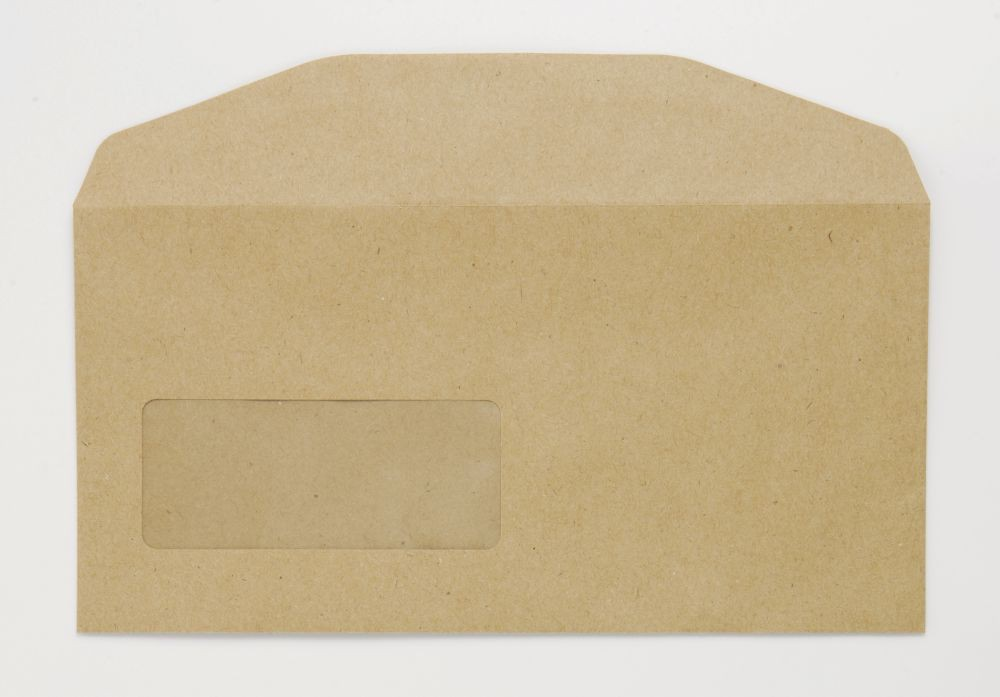 Niger Envelope Manilla 70Gm DL 110x220mm Gummed Flapped Window 22Up 17Lhs Boxed 1000