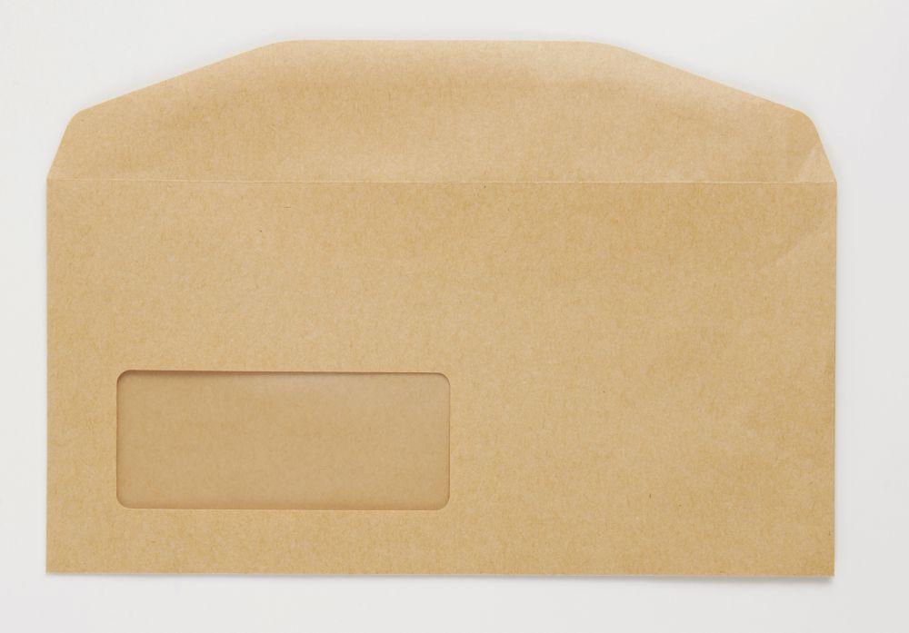 Niger Envelope Manilla 70Gm DL 110x220mm Gummed Flapped 18Up 20Lhs Boxed 1000