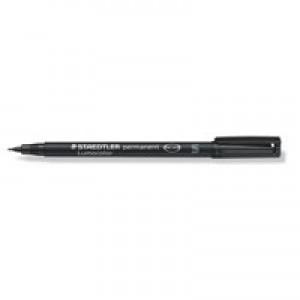 Staedtler Lumocolor Permanent Pen Superfine 0.4mm Line Black Code 313-9