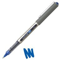 Uni-ball Eye UB157 Rollerball Pen Fine 0.7mm Tip 0.5mm Line Blue Ref UB157BLUE [Pack 12]