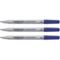 Staedtler Lumocolor Medium Blue 315-3