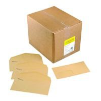 Niger Envelope Manilla 70Gm C6 114x162mm Gummed Flapped Window 18Up 17Lhs Boxed 1000