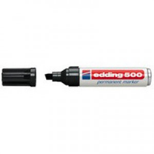 Edding Permanent Marker Black 500-001