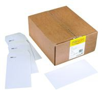 Spey Envelope White Wove 90gm DL 110x220mm Self Seal Pack 1000
