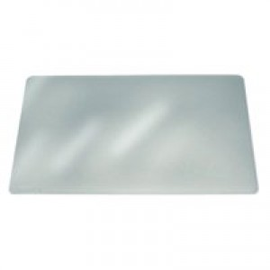 Durable Duraglas Desk Mat Transparent Anti-glare W650xD500mm Ref 7113/19