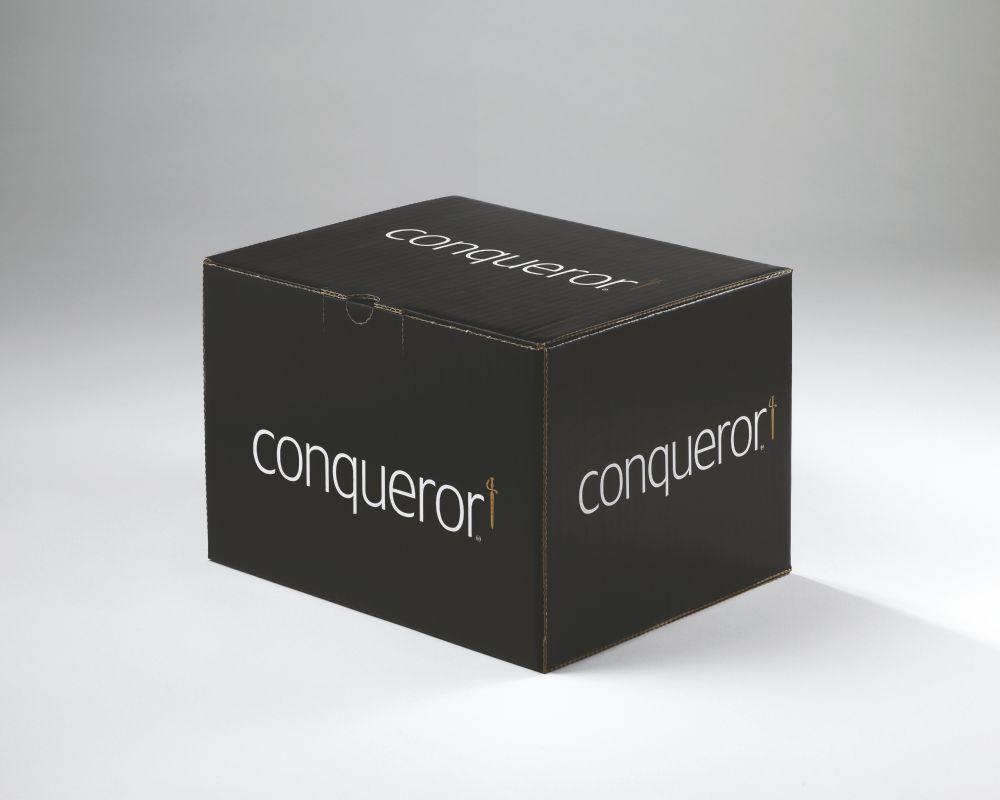 Conqueror Laid Brill White C6 Envelope FSC4 114X162mm Sup/Seal Bnd 50 Box500