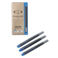 Image for Parker Quink Cartridge Ink Refills Box of 5 Black Ref S0881570 [Pack 12]