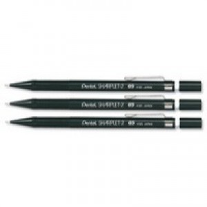 Pentel Sharplet Automatic Pencil with 2 x HB 0.5mm Lead Ref A125-A [Pack 12]