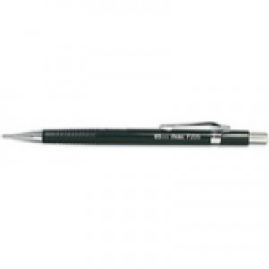 Pentel Automatic Pencil Plastic Steel-lined with 6 x HB 0.5mm Lead Ref P205 [Pack 12]