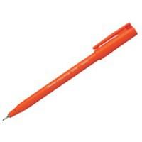 Pentel S570 Ultra Fine Pen Plastic 0.6mm Tip 0.3mm Line Red Code S570-B