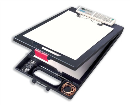 Clipcase Clipboard with Calc A4 Black